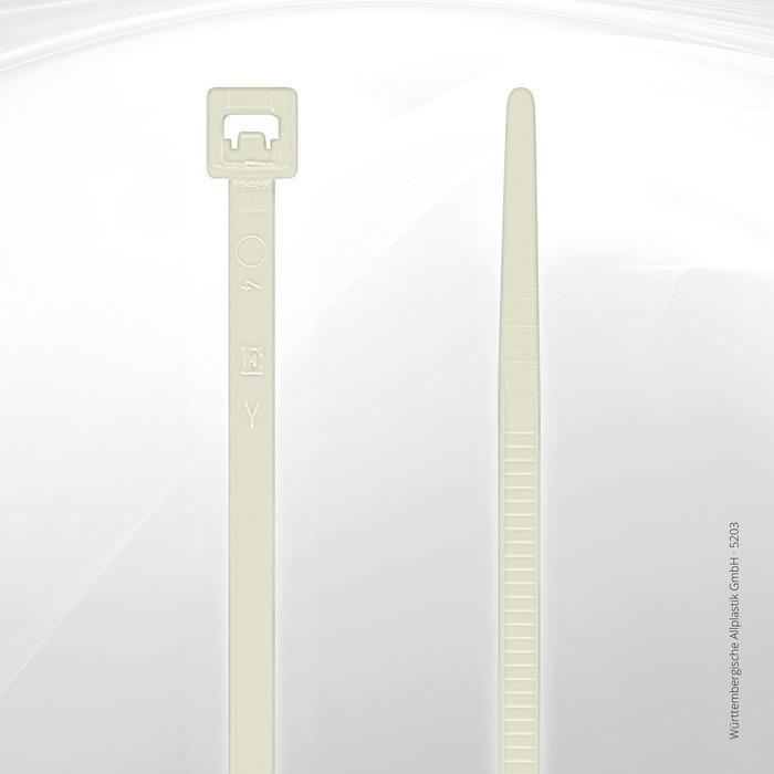 Allplastik-Kabelbinder® cable ties, standard - 5203 C (natural)
