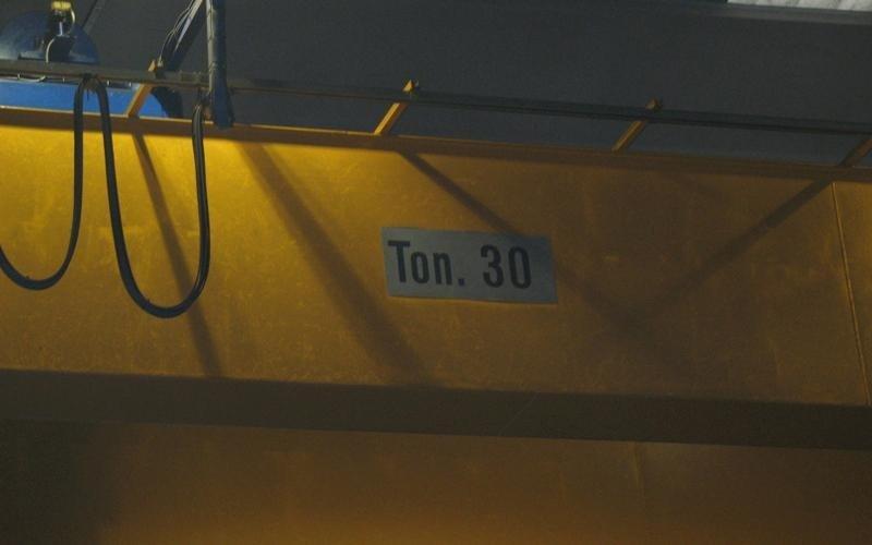 """Carroponte bitrave con argano """"OMC"""" portata 16 Ton - null"""
