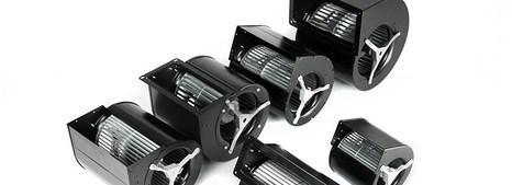 Ventilateurs centrifuges à action double ouïe