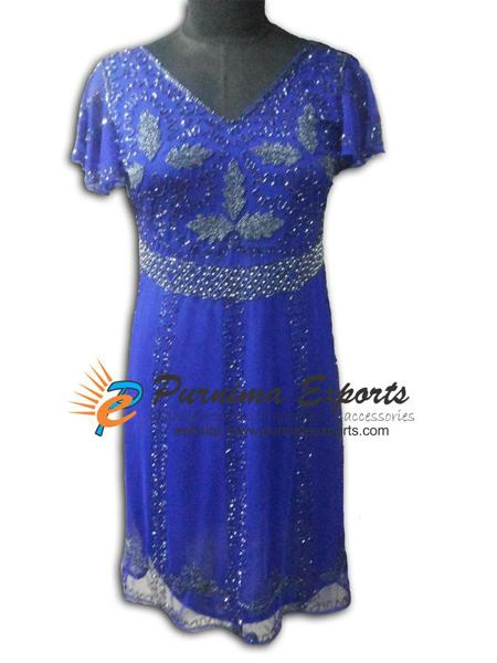 Evening Beaded Dresses - Ladies Sequin & Bead Embellished Evening Dresses