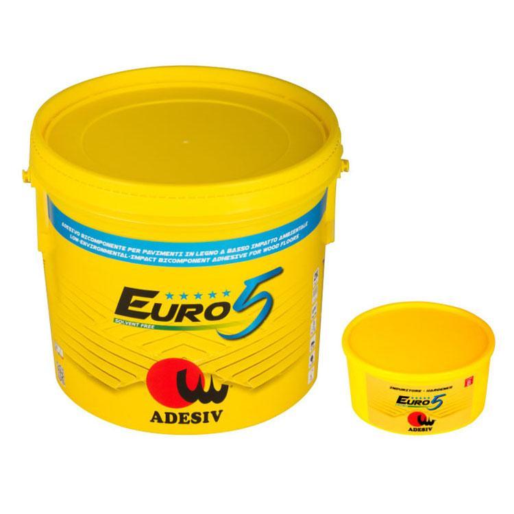 Euro 5 Adesivo Bicomponente Per Pavimenti In Legno A Basso Impatto Ambientale - null