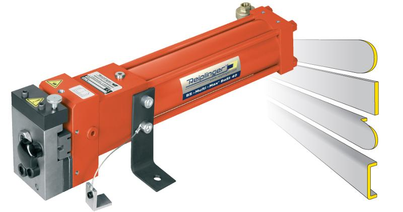 Door fitting punch for U- and Flat-locks - Türbeschlagstanze Multi-Max® UBS / FBS 40