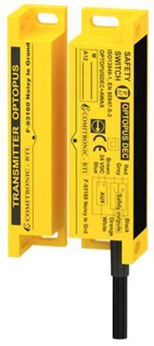 Contrôle la position des portes/carters miniatures de machines dangereuses - OPTOPUS DEC et MKT
