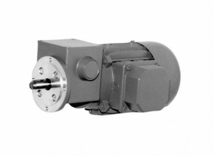 SN4F - Zweistufiger Getriebemotor mit Ausgangswelle