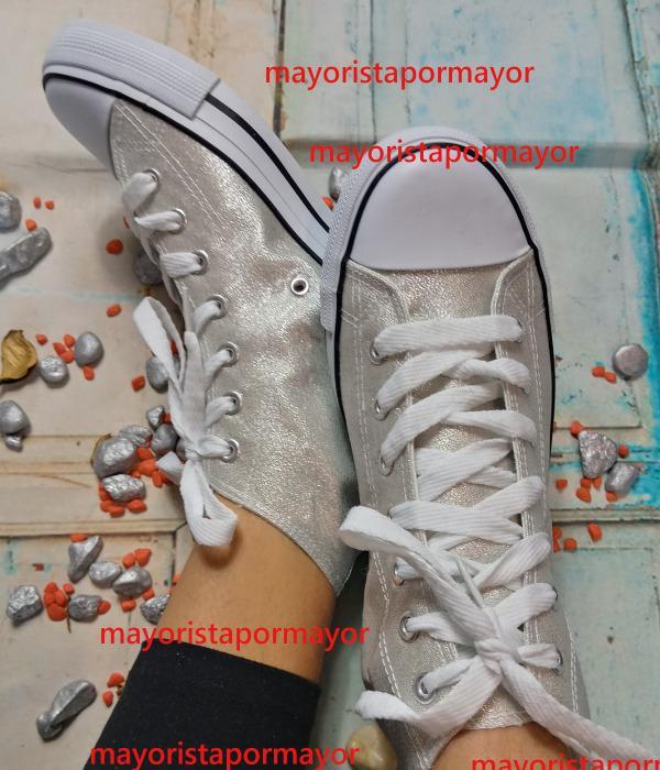 Calzado al por mayor - zapatillas lona, mujer
