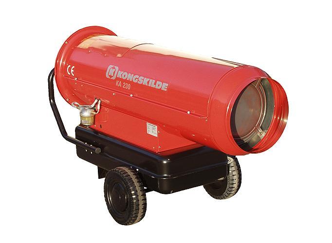 Appareils de chauffage fioul combustion directe - KA - Chauffage - Génerateurs à air chaud