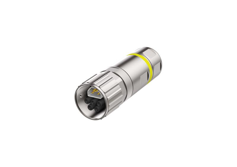 B17 Hybrid Steckverbinder konfektionierbar - CONEC SuperCon® Hybridsteckverbinder umspritzt Baugröße B17