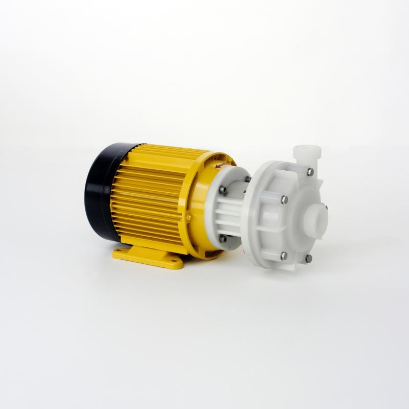 Pump plastic PVDF U and U-DO with mechanical seal - Normal priming centrifugal pumps with a single-/double mechanical seal