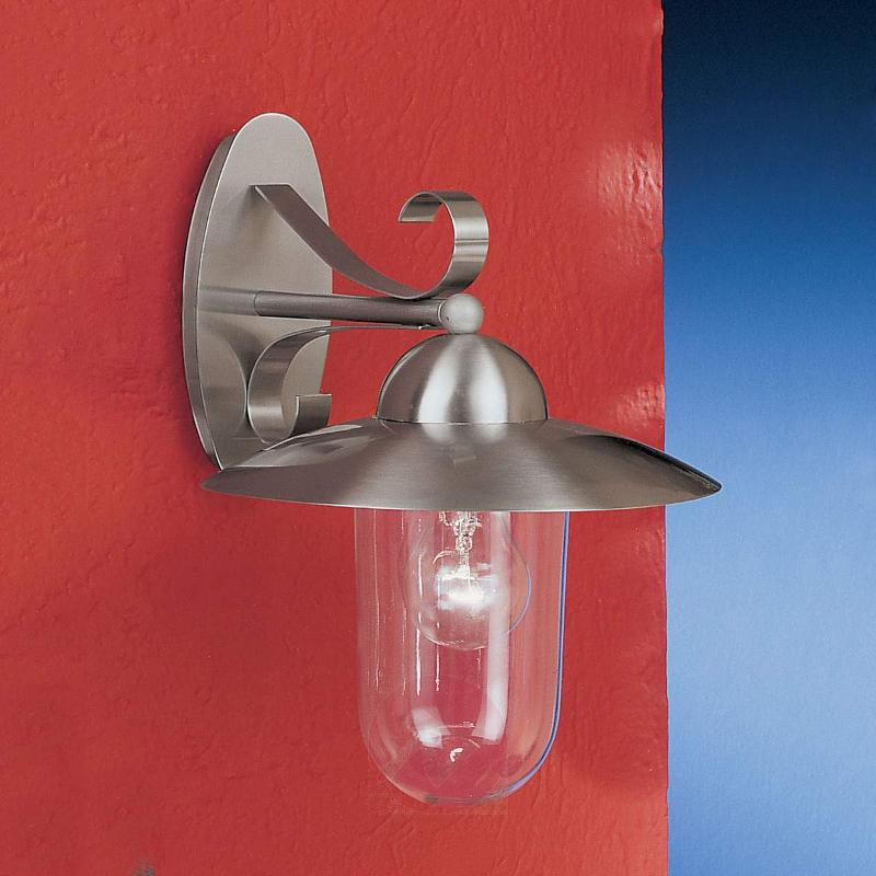 Milton I Outside Wall Light Stainless Steel - Outdoor Wall Lights