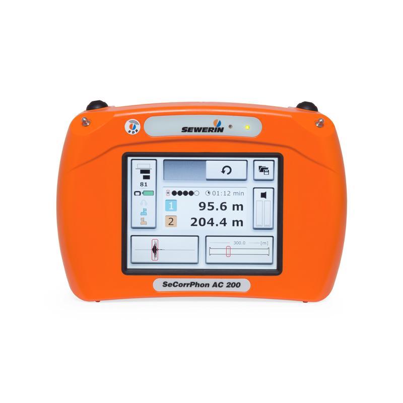 SeCorrPhon AC 200 - Détecteur acoustique de fuites d'eau et corrélateur