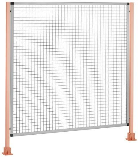 Safety guard system - machine's safety surround - Safety with visual appeal