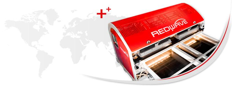 for material and colour recognition - REDWAVE NIR/C