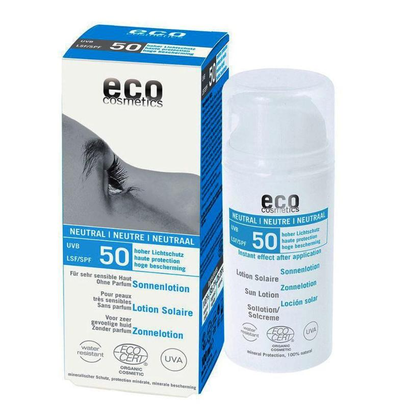 ECO Sonnenlotion LSF 50 neutral 100ml ohne Parfum - null