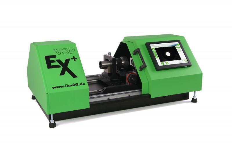 Messgerät für Extrusionswerkzeuge und Ziehsteine VCPEx+ - Stand-Alone System zum Messen von Drahtführungen, Mundstücken und Ziehsteinen