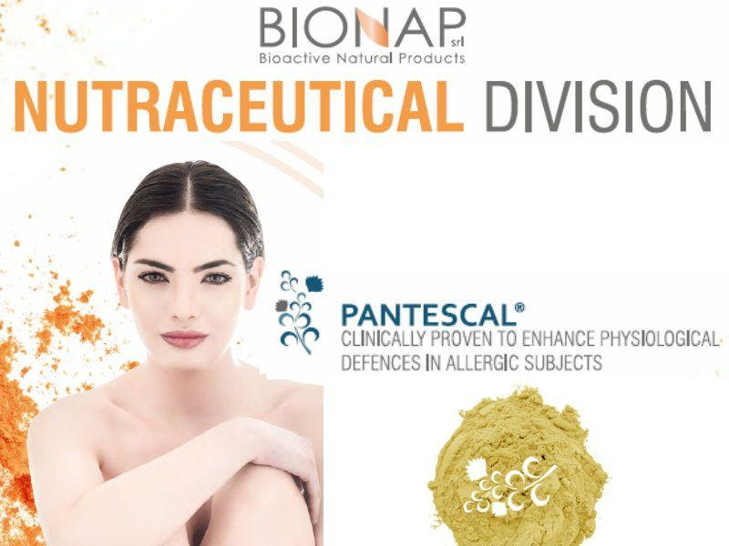 Pantescal - Natural nutraceutical ingredients - Enhance physiological defences in allergic subjects