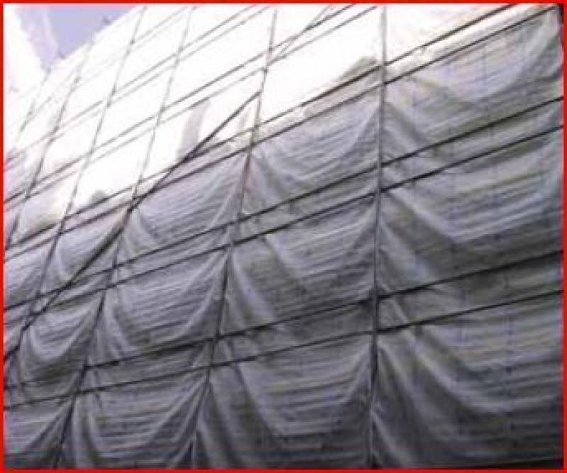 Filet d'échaffaudage anti-poussière130 gr/m² - Filetecha130128.5