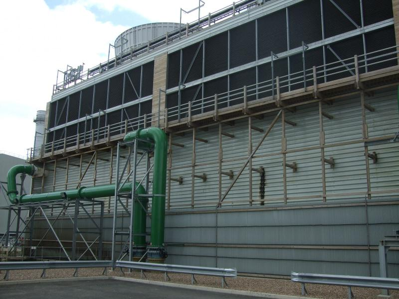 Wet cooling systems - Plume abated cooling towers