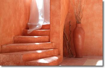 Peinture décorative : sablée