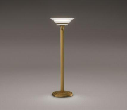 Art deco floor lamp - Model 32
