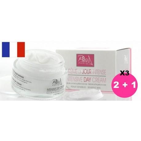 Crème de jour intensive Rbg Paris lot de 3 - Promotions