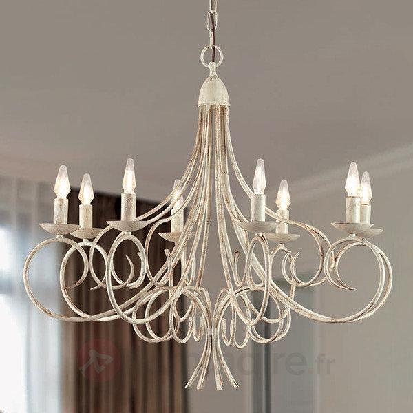 Lustre impressionnant Kayra à 8 lampes - Lustres classiques,antiques