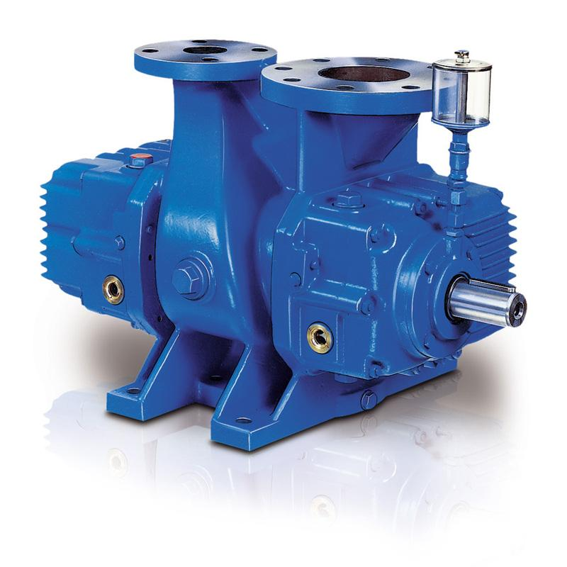 AERZEN GMa/GMb/GMc ... mHV low-vacuum stage with pre-inlet - Vacuum pumps