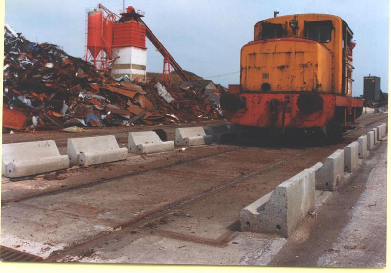Pont bascule wagon encastré dans le sol - null