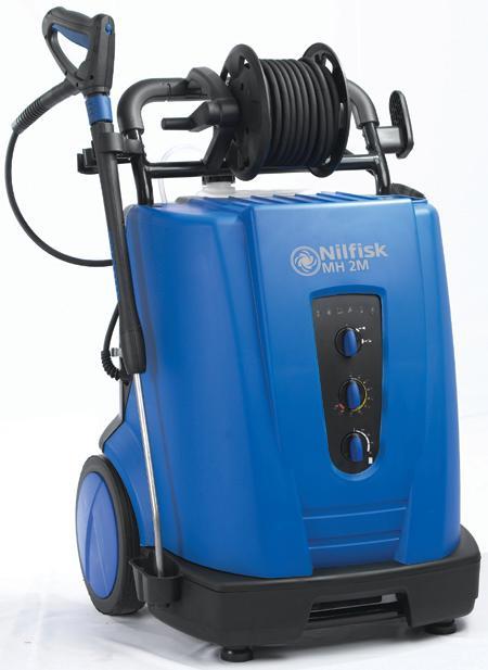 NILFISK MH 2M - Nettoyeurs mobile eau chaude petit débit - Débit de 600 à 660 l/h. Usage intensif
