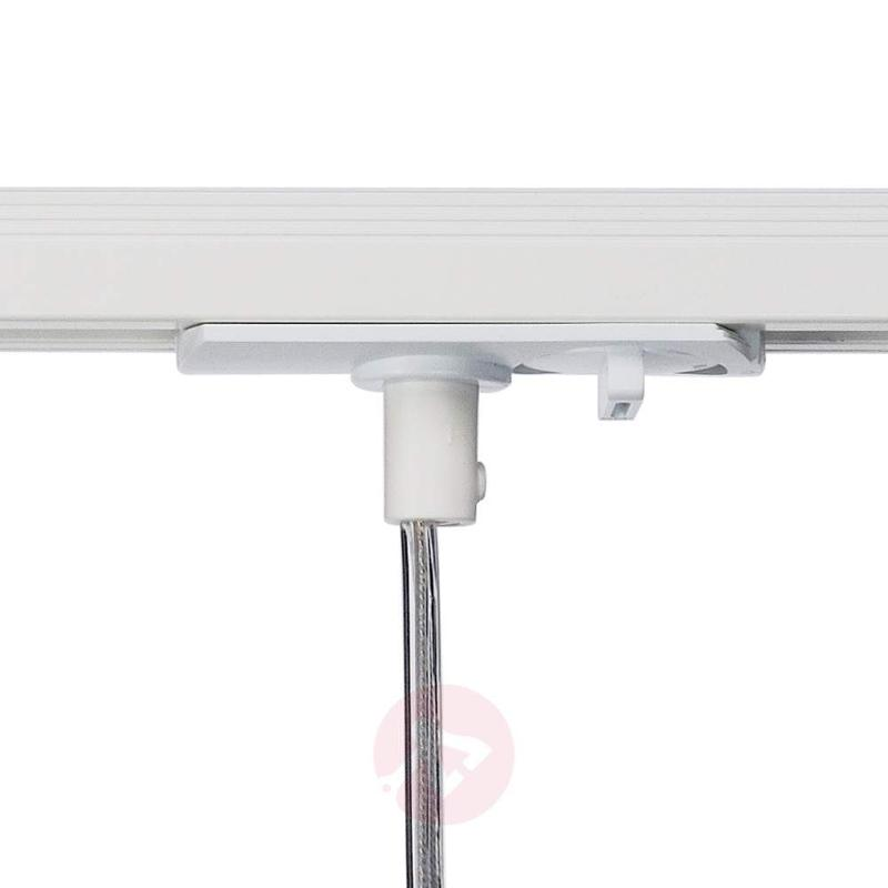 White Adapter - Commo Pendant Lamp for 1 Ph. Spot - 1-Phase Track