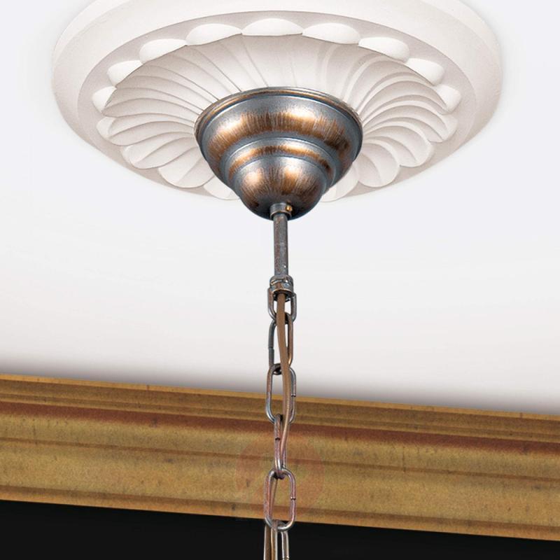 Luxurious chandelier Miramare, 3-light - design-hotel-lighting
