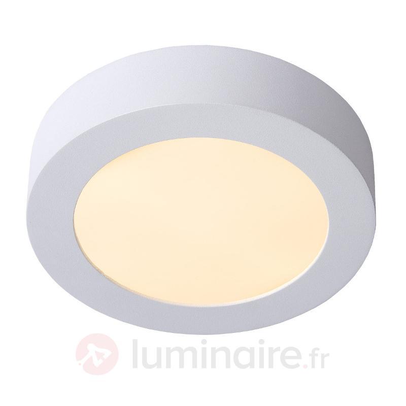 Plafonnier discret rond LED BRICE - Plafonniers LED