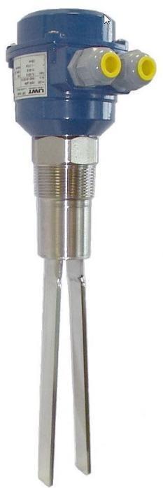 Chave com garfo vibratório Vibrasil® - Ideal para sólidos a granel extremamente leves ou transportados pneumaticamente.