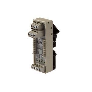 Sistema de conexión - VL250100 - Logic module, 49x80x26mm, AND, 4fold, 10-35V DC,  sensor side Clamp