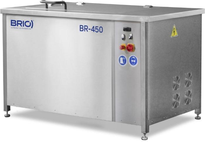 BR-450  - Máquina de limpieza por ultrasonidos manual de 450 L