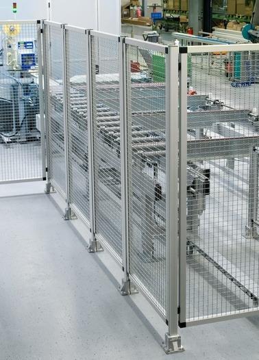 Sistema di protezione e separazione - Sicurezza con aspirazione estetica