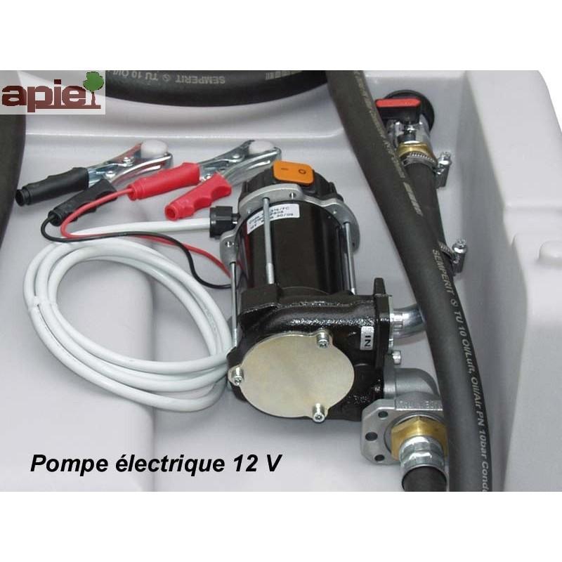 Station 430 L pour ravitaillement Gasoil - pompe électrique - Référence : EASY/MOBIL/430L