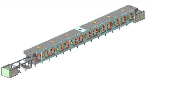 Кондитерское оборудование - Печи кондитерские Г4-КПГ с горелками инфракрасного излучения