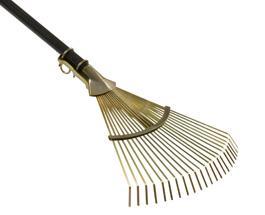 scopa rastrello spazzola foglie erba prato giardino... - Scope per foglie e pulizia