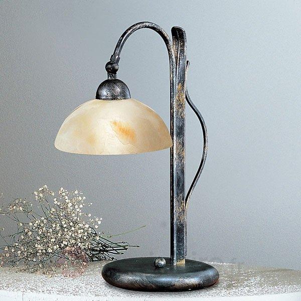 Lampe à poser DANA peinte à la main - Lampes à poser rustiques