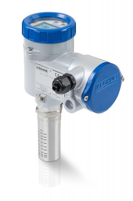 DWM series - Contrôleur de débit pour liquide / numérique / 4 - 20 mA / max. 150 °C