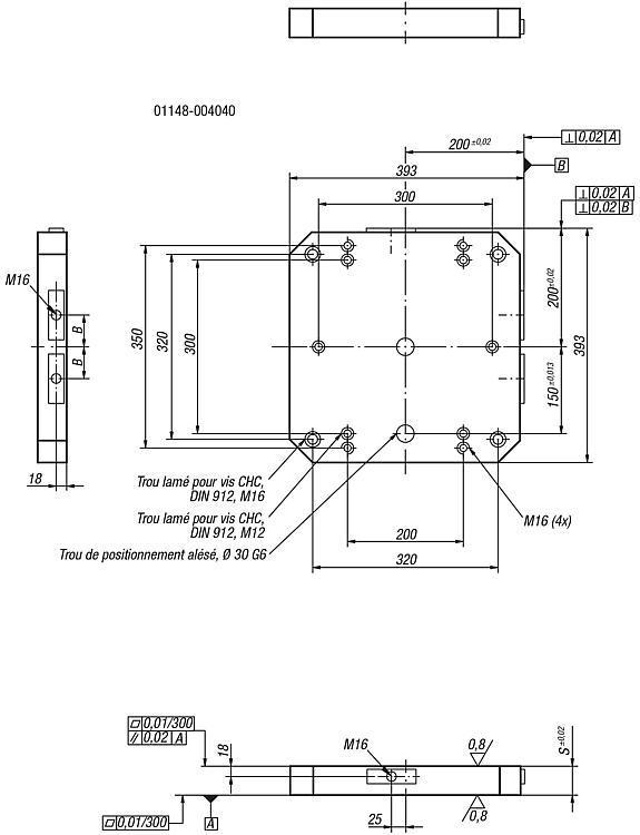 Palette - Éléments de base Plaques Plateaux Profilés Équerres de serrage Cubes de serrage