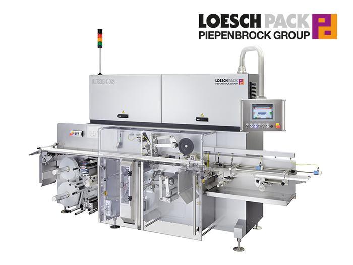 Automatische Falteinschlagmaschine LRM-HS ║ LoeschPack ★★★★★ - null
