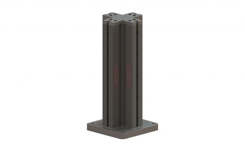 Spannturm, Schienenlänge 600 mm - null