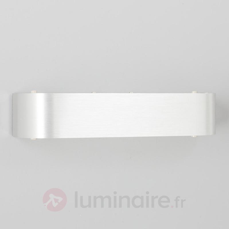 Applique en aluminium Nika avec ampoule LED E14 - Appliques LED