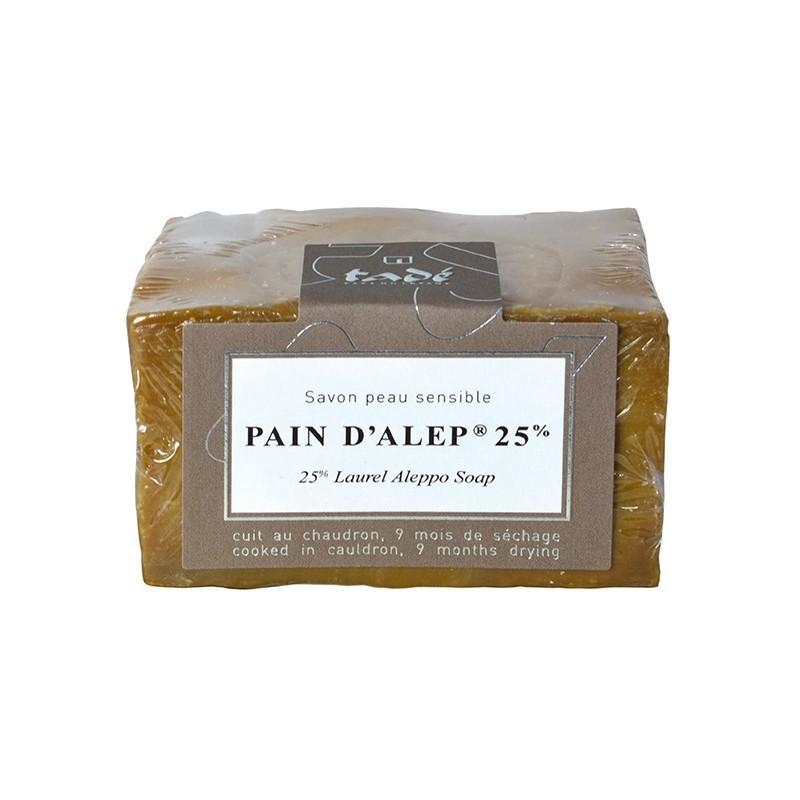 Savon Pain D'alep 25% Laurier - 200g - SAVON PAIN D'ALEP