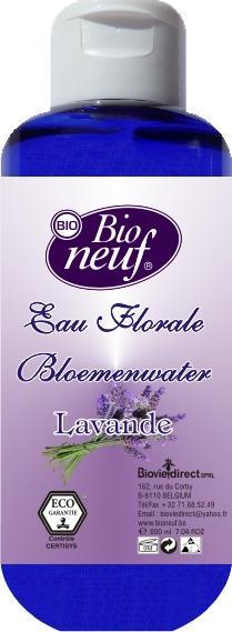 EAU FLORALE 200 ml DE LAVANDE - COSMETIQUE ECO