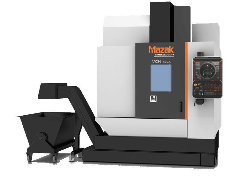 MACHINE PARK: - MAZAK VCN-430A