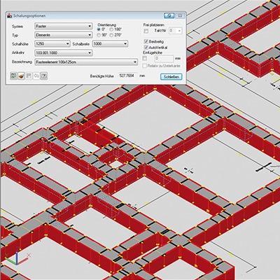 PASCHAL-Plan pro - logiciel de planification de coffrage sous AutoCAD