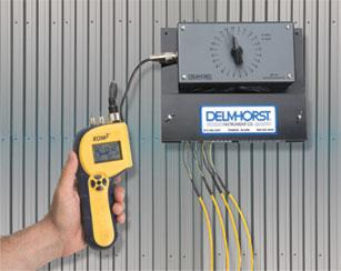 Kil-Mo-Trol monitoring system - Wood