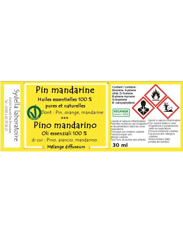 Pin Mandarine - DIFFUSION